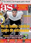 Portada diario AS del 24 de Marzo de 2010
