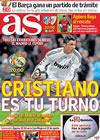 Portada diario AS del 25 de Marzo de 2010