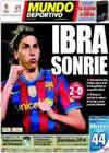 Portada Mundo Deportivo del 25 de Marzo de 2010