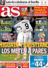 Portada diario AS del 26 de Marzo de 2010