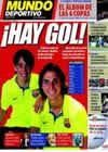Portada Mundo Deportivo del 26 de Marzo de 2010