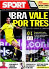 Portada diario Sport del 28 de Marzo de 2010