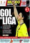Portada Mundo Deportivo del 28 de Marzo de 2010