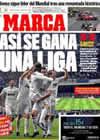 Portada diario Marca del 29 de Marzo de 2010