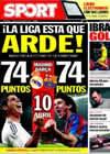 Portada diario Sport del 29 de Marzo de 2010