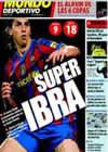 Portada Mundo Deportivo del 29 de Marzo de 2010