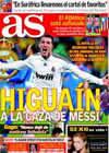 Portada diario AS del 30 de Marzo de 2010