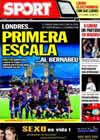 Portada diario Sport del 30 de Marzo de 2010