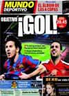 Portada Mundo Deportivo del 31 de Marzo de 2010