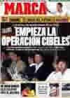 Portada diario Marca del 1 de Abril de 2010
