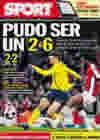 Portada diario Sport del 1 de Abril de 2010