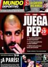 Portada Mundo Deportivo del 3 de Abril de 2010