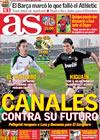 Portada diario AS del 4 de Abril de 2010