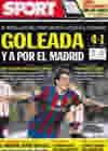 Portada diario Sport del 4 de Abril de 2010