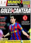 Portada Mundo Deportivo del 4 de Abril de 2010
