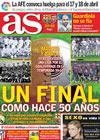 Portada diario AS del 6 de Abril de 2010