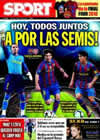 Portada diario Sport del 6 de Abril de 2010