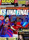 Portada Mundo Deportivo del 6 de Abril de 2010