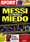 Portada diario Sport del 8 de Abril de 2010