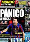 Portada Mundo Deportivo del 8 de Abril de 2010