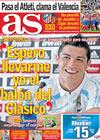 Portada diario AS del 9 de Abril de 2010