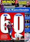 Portada Mundo Deportivo del 9 de Abril de 2010