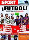 Portada diario Sport del 10 de Abril de 2010