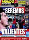 Portada Mundo Deportivo del 10 de Abril de 2010