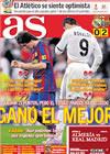 Portada diario AS del 11 de Abril de 2010