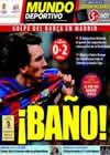 Portada Mundo Deportivo del 11 de Abril de 2010