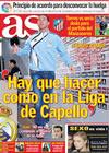 Portada diario AS del 13 de Abril de 2010