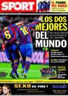 Portada diario Sport del 13 de Abril de 2010