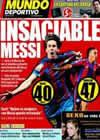 Portada Mundo Deportivo del 13 de Abril de 2010