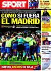 Portada diario Sport del 14 de Abril de 2010