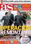 Portada diario AS del 15 de Abril de 2010