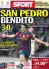 Portada diario Sport del 15 de Abril de 2010