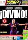 Portada Mundo Deportivo del 15 de Abril de 2010