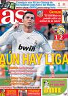 Portada diario AS del 16 de Abril de 2010