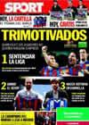 Portada diario Sport del 17 de Abril de 2010