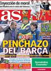 Portada diario AS del 18 de Abril de 2010