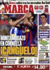 Portada diario Marca del 18 de Abril de 2010