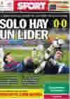 Portada diario Sport del 18 de Abril de 2010