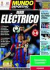 Portada Mundo Deportivo del 18 de Abril de 2010