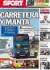 Portada diario Sport del 19 de Abril de 2010