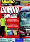 Portada Mundo Deportivo del 19 de Abril de 2010