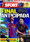 Portada diario Sport del 20 de Abril de 2010