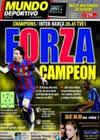 Portada Mundo Deportivo del 20 de Abril de 2010