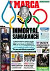 Portada diario Marca del 22 de Abril de 2010