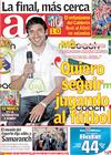 Portada diario AS del 23 de Abril de 2010