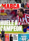 Portada diario Marca del 23 de Abril de 2010